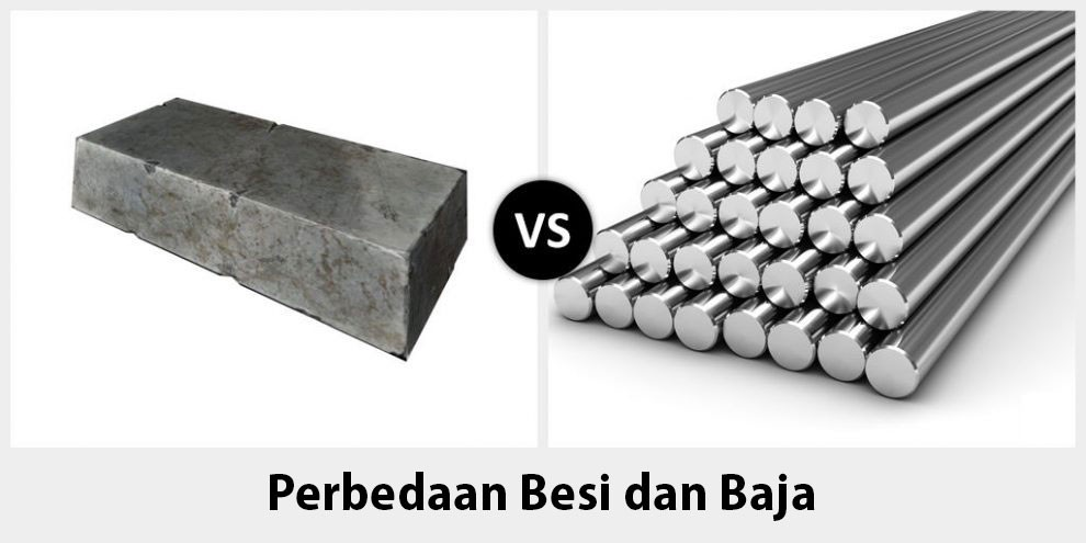 Perbedaan Besi Dan Baja